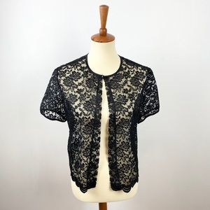 Vintage Robbie Bee Lace Top